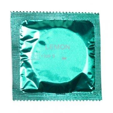 lemon-condoms